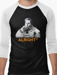 Alright Cubed Men's Baseball ¾ T-Shirt