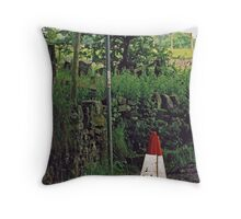 Traffic Cone 11 Throw Pillow