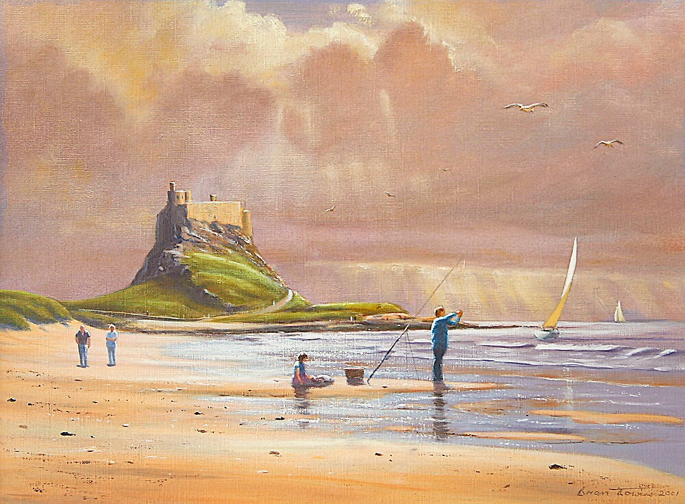 Lindisfarne Castle by Brian Towers