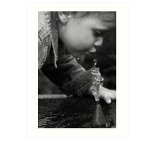 Water Sculptures Art Print