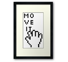 The Tooled Up Series: Move It Framed Print