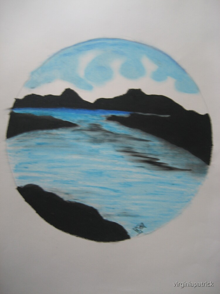 Blue Lagoon by virginiapatrick
