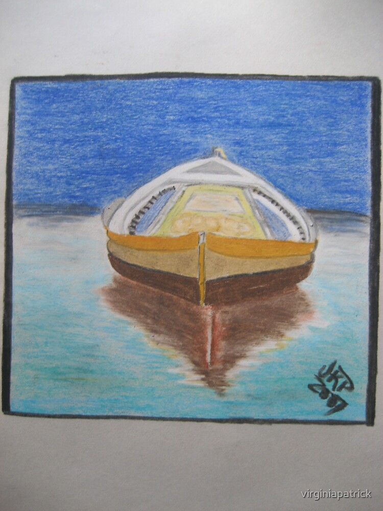 Boat by virginiapatrick