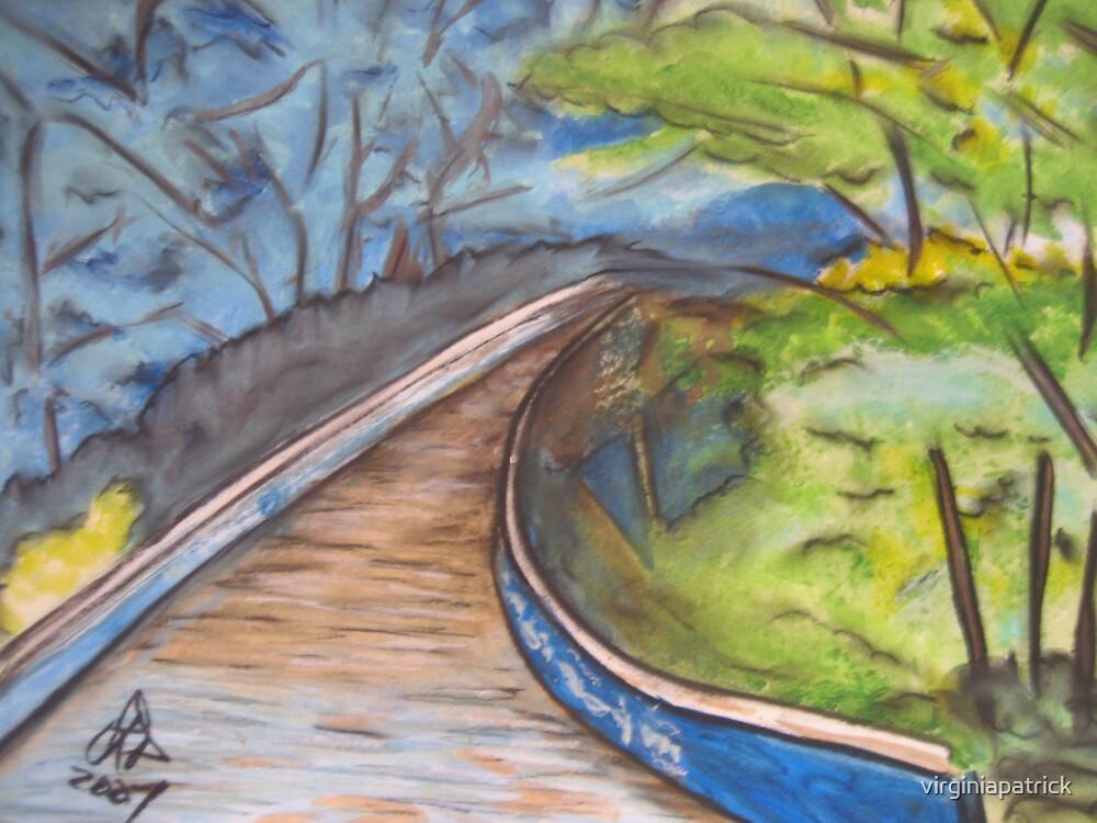 Bridge Over Water by virginiapatrick