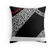 Made in China SB x Superme Black/Cement - Pop Art, Sneaker Art, Minimal Throw Pillow