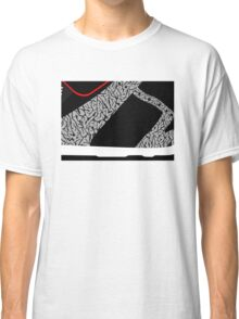 Made in China SB x Superme Black/Cement - Pop Art, Sneaker Art, Minimal Classic T-Shirt