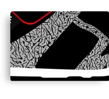 Made in China SB x Superme Black/Cement - Pop Art, Sneaker Art, Minimal Canvas Print