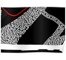 Made in China SB x Superme Black/Cement - Pop Art, Sneaker Art, Minimal Poster