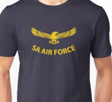 South African Air Force (Yellow Text) Unisex T-Shirt