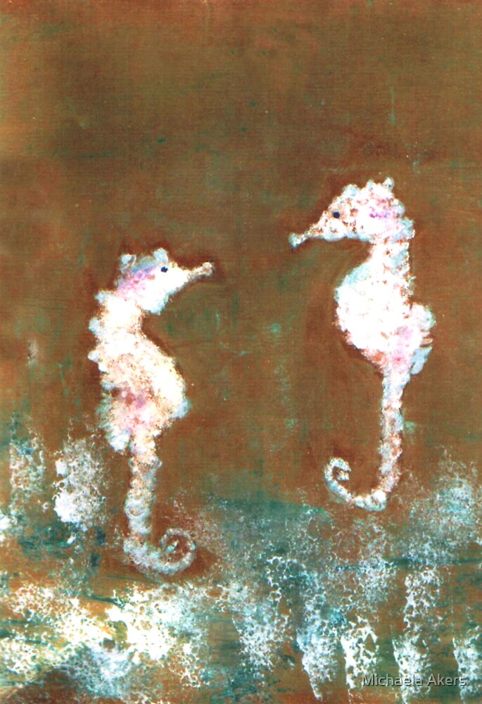 Seahorses by Michaela Akers