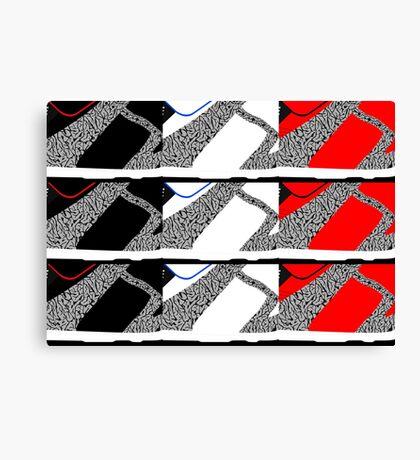 Made in China SB x Superme Pack - Pop Art, Sneaker Art, Minimal Canvas Print
