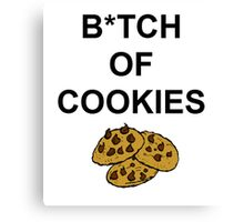Batch of Cookies Canvas Print