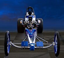 Nostalgia Top Fuel Dragster 1 by DaveKoontz