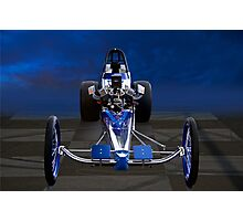Nostalgia Top Fuel Dragster 1 Photographic Print