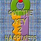 KEY TO HAPPINESS by pjmurphy