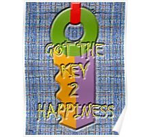 KEY TO HAPPINESS Poster