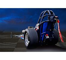 Nostalgia Top Fuel Dragster 2 Photographic Print
