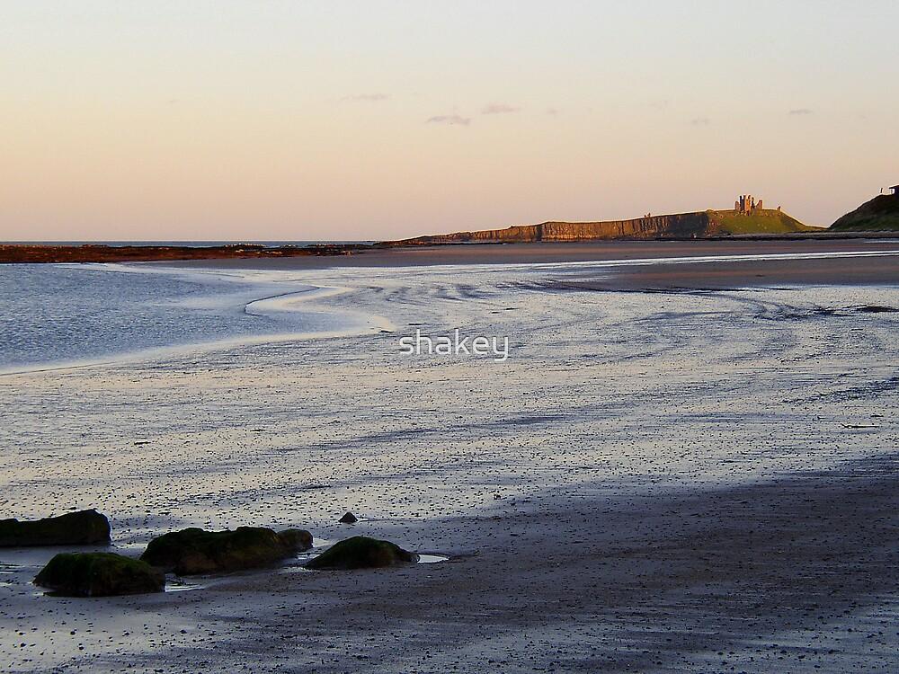 Dunstanburgh Beach by shakey