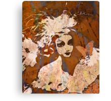 The Butterfly Girl Canvas Print