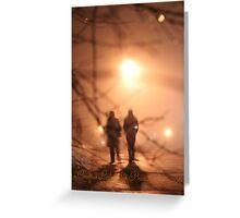 Shadow-Rain Greeting Card