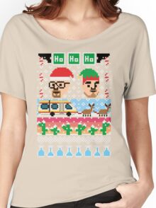 Breaking Christmas - Ugly Christmas Sweater Women's Relaxed Fit T-Shirt
