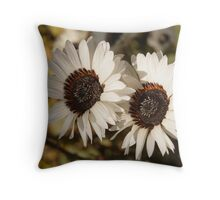Fowers in Love Throw Pillow