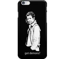 got demons? iPhone Case/Skin