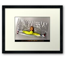Yellow Leg Baby Runner Framed Print