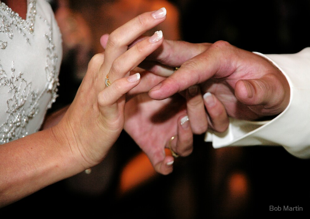 Loving hands by Bob Martin