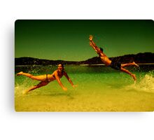 Summer in the 50's Canvas Print