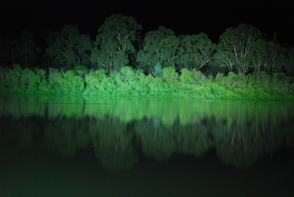 Murray River at Night by Princessbren2006