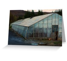 Geothermal Horticulture Greeting Card