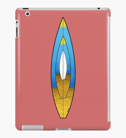 Surfboard Design T shirt iPad Case/Skin