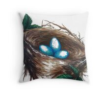 Nest is Home Throw Pillow