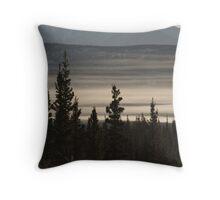 Yukon Mist Throw Pillow