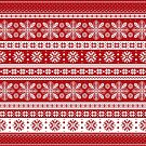Christmas Pattern by DetourShirts