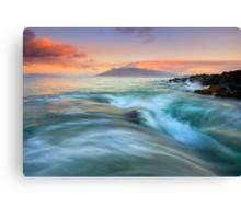 Folding the Sea Canvas Print