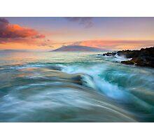 Folding the Sea Photographic Print