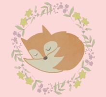 Sleepy Little Fox / Sleeping Fox Kids Clothes