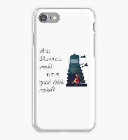 I am not a Dalek iPhone Case/Skin