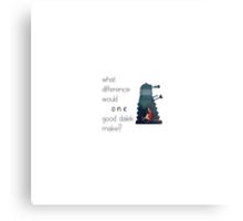 I am not a Dalek Metal Print