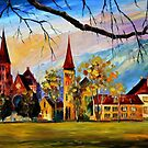 Interlaken, Switzerland — Buy Now Link - www.etsy.com/listing/212178721 by Leonid  Afremov