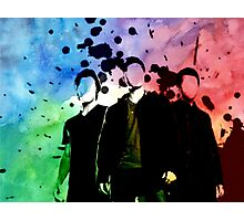 Team Free Will + Colors Photographic Print