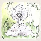 Empire of Mushrooms: Lycoperdon perlatum by Barbora  Urbankova