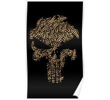 Lead Lined Skull: Punisher Poster
