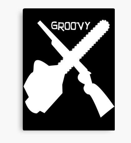 Groovy v2 Canvas Print