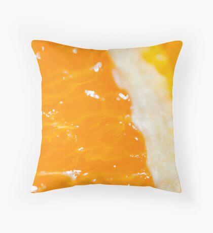 Citrus Guts Throw Pillow