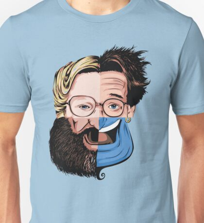 Robin Williams - Morph Unisex T-Shirt