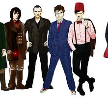 Doctor Who - The Six Doctors by Chris Singley