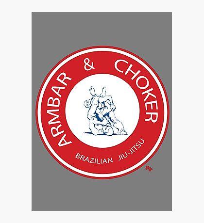 Armbar & Choker BJJ Photographic Print